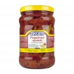 Peperoni Agrodolci in Strisce - Barattolo 1700 ml vetro - Zuccato