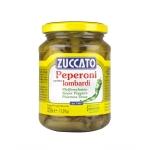 Peperoni Lombardi - Barattolo 370 ml vetro - Zuccato
