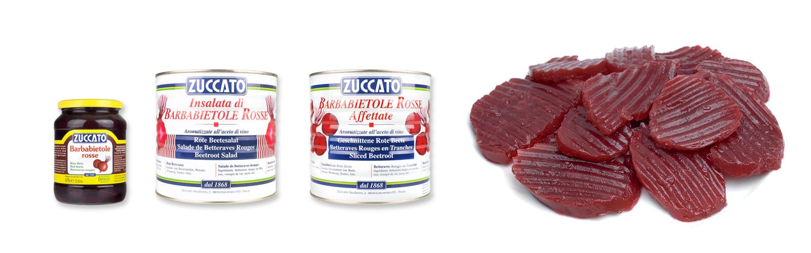 Barbabietole Rosse - Barattoli - Zuccato