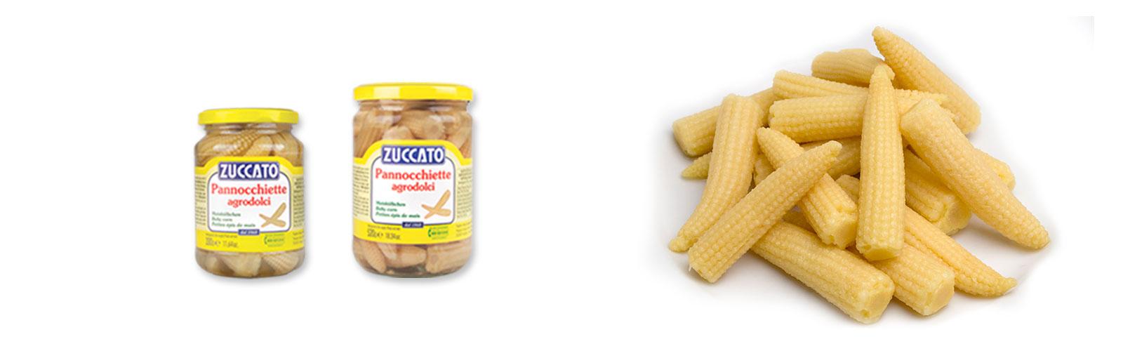Pannocchiette - Barattolo - Zuccato