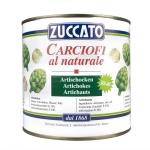 Carciofi al naturale - Latta 2650 ml - Zuccato