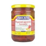 Peperoni Agrodolci Bocconcini - Barattolo 580 ml vetro - Zuccato