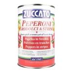Peperoni Agrodolci in Strisce - Latta 4250 ml - Zuccato