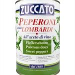 Peperoni Lombardi - Latta 4250 ml - Zuccato