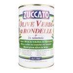 Olive Verdi Rondelle - Latta 4250 ML - Zuccato