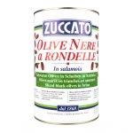 Olive Nere Rondelle - Latta 4250 ML - Zuccato