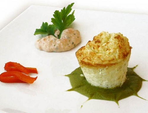 Potatoes And Sauerkrauts Kisch With Pea Sauce