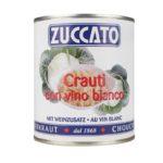 Crauti Al Vino Bianco - Lattina 850 - Zuccato
