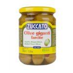 Olive Giganti Farcite - Barattolo 370 ml vetro - Zuccato