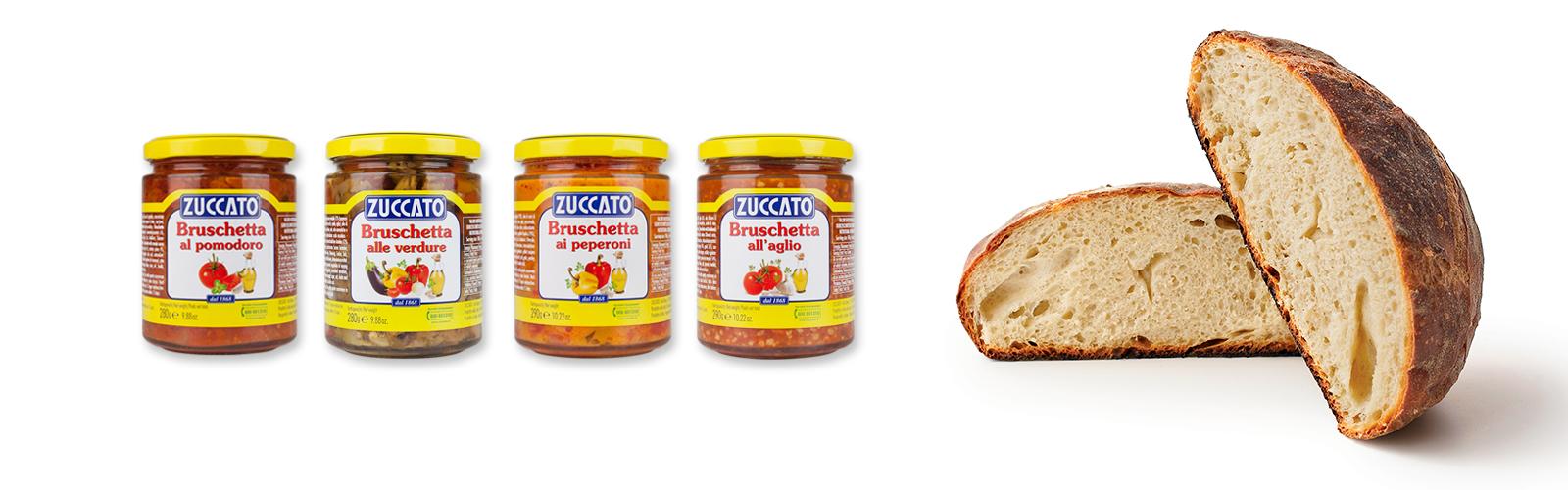 Bruschette Zuccato
