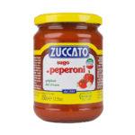 Sugo Peperoni - Barattolo da 370 ml - Zuccato